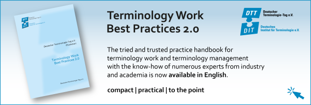"Handbook ""Terminology Work Best Practices 2.0"""